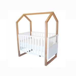 [Babyhood] Mila Cot 5 in 1 (White Beech)