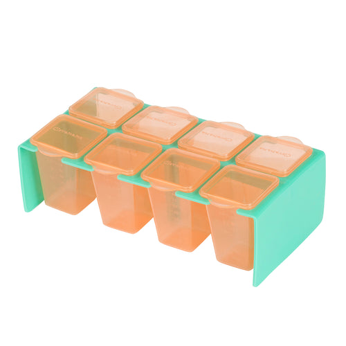 [Clevamama] ClevaPortions - Freezer & Storage Pots - Not Too Big