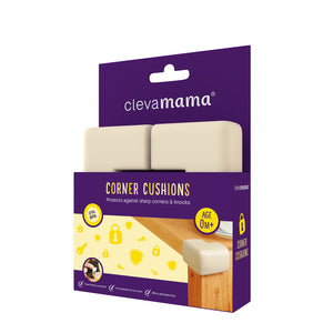 [Clevamama] Corner Cushions (4PK) - Not Too Big (Packaging)