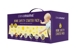 [Clevamama] 30PCS Home Safety Starter Pack - 3 Pronged Plug - Not Too Big (Packaging)