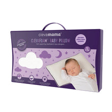 Load image into Gallery viewer, [Clevamama] ClevaFoam Baby Pillow - Not Too Big (Packaging)