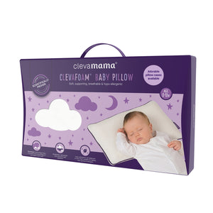 [Clevamama] ClevaFoam Baby Pillow - Not Too Big (Packaging)