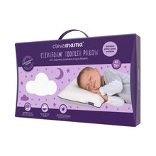 Load image into Gallery viewer, [Clevamama] ClevaFoam Toddler Pillow - Not Too Big (Packaging)