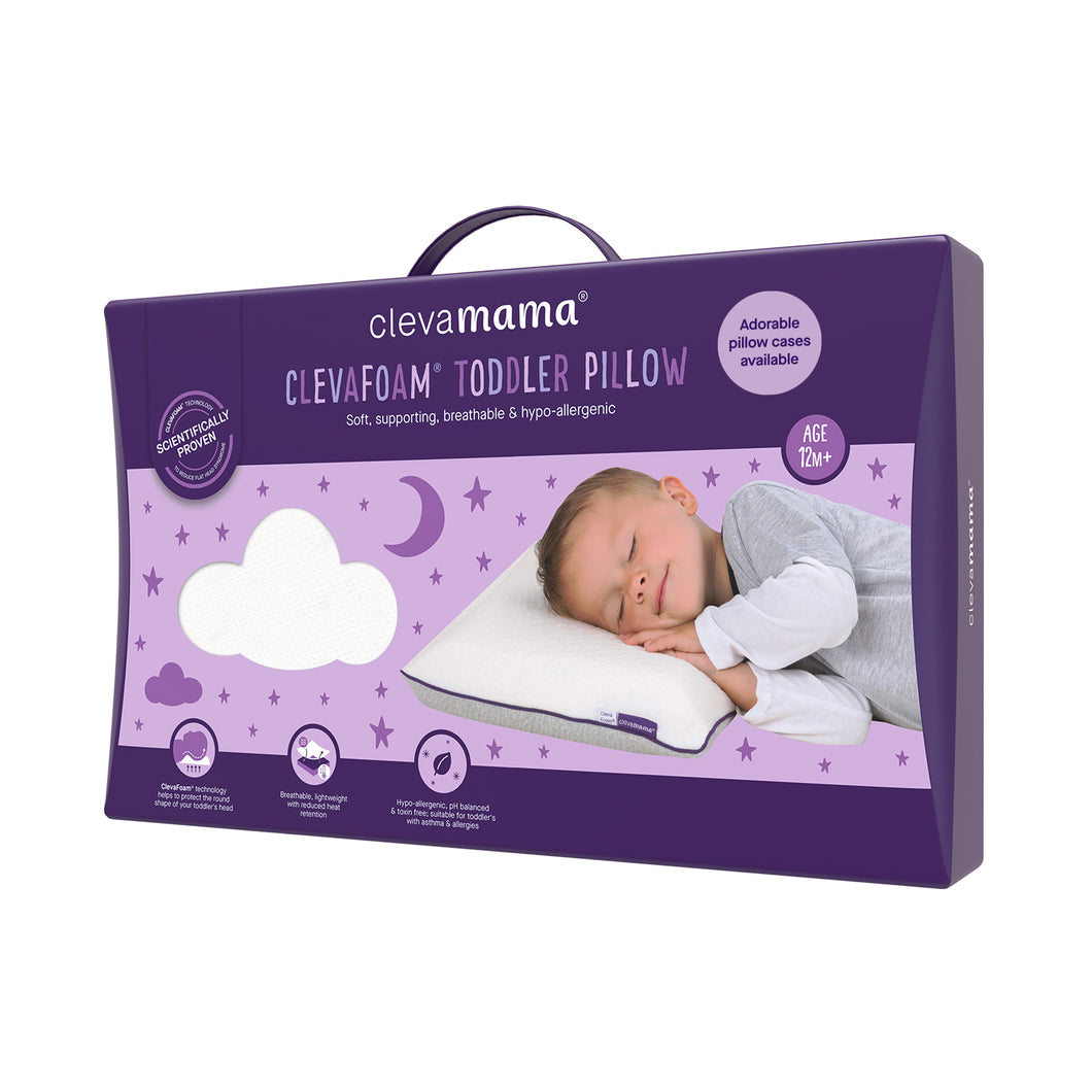 [Clevamama] ClevaFoam Toddler Pillow - Not Too Big (Packaging)