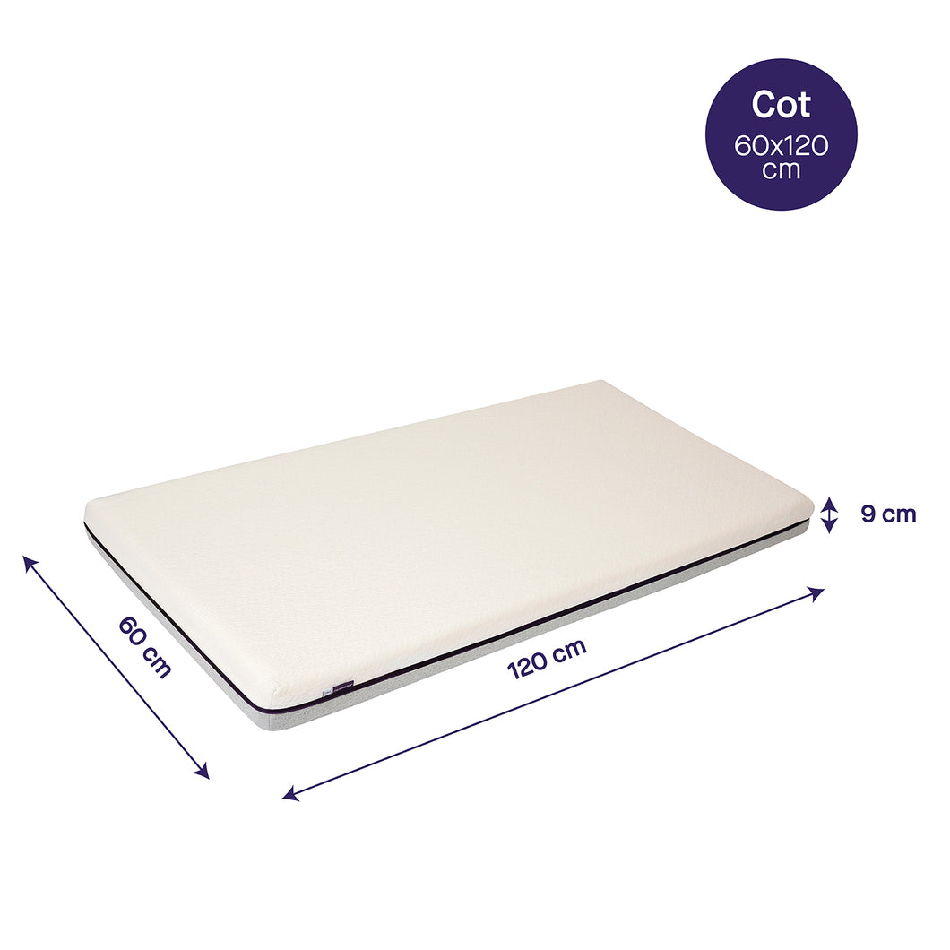 [Clevamama] ClevaFoam Support Mattress - Increased Airflow - Not Too Big (Dimensions)