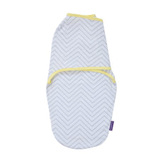 Load image into Gallery viewer, [Clevamama] Clevamama Swaddle to Sleep (0-3 months) - Not Too Big (Yellow/Grey)