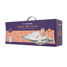 Load image into Gallery viewer, [Clevamama] Newborn Tummy Time Mat - Not Too Big (Packaging)