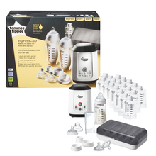Load image into Gallery viewer, [Tommee Tippee] Express & Go Complete Breast Milk Starter Gift Set - Not Too Big (Packaging and Contents)