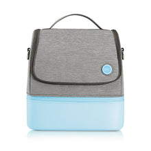 Load image into Gallery viewer, 59s UV sterilizing mommy bag, portable and has 2 compartments in blue
