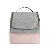 Load image into Gallery viewer, 59s UV sterilizer Mommy bag in pink with 2 compartments