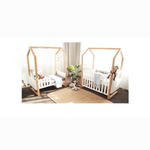 Load image into Gallery viewer, [Babyhood] Mila Cot 5 in 1 (White Beech)