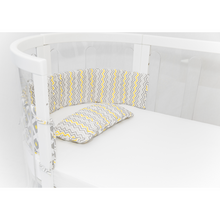 Load image into Gallery viewer, [Babyhood] Kaylula Cot Bumper & Pillow Set - Not Too Big
