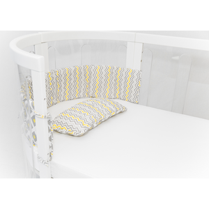 [Babyhood] Kaylula Cot Bumper & Pillow Set - Not Too Big