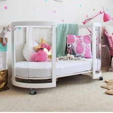 Load image into Gallery viewer, [Babyhood] Kaylula Sova Clear Cot 5-in-1 + Mattress 3 PCS Set - Not Too Big