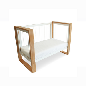 Babyhood Bella Cot used as a toddler bed