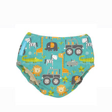 Load image into Gallery viewer, [Charlie Banana] Swim Diaper & Training Pants - Not Too Big (Gone Safari)