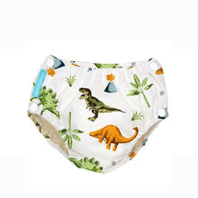 Load image into Gallery viewer, [Charlie Banana] Swim Diaper & Training Pants - Not Too Big (Dinosaurs)