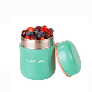 [Clevamama] 8 Hour Food Flask with berries - Not Too Big