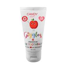 Load image into Gallery viewer, [Giggles] Toothpaste (1-6 years) - Not Too Big (Candy Apple)