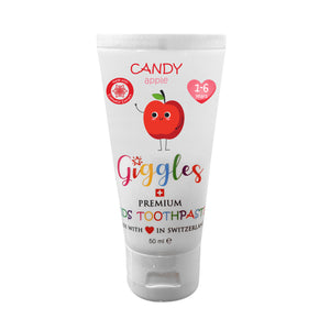 [Giggles] Toothpaste (1-6 years) - Not Too Big (Candy Apple)