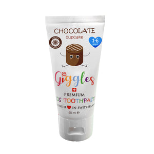 [Giggles] Toothpaste (1-6 years) - Not Too Big (Chocolate Cupcake)