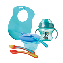 Load image into Gallery viewer, [Tommee Tippee] Explora Feeding Set Kit - Not Too Big (Blue)