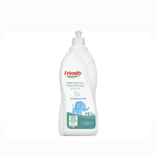 Load image into Gallery viewer, [Friendly Organics] Baby Bottle & Feeding Utensil Wash Fragrance Free - Not Too Big