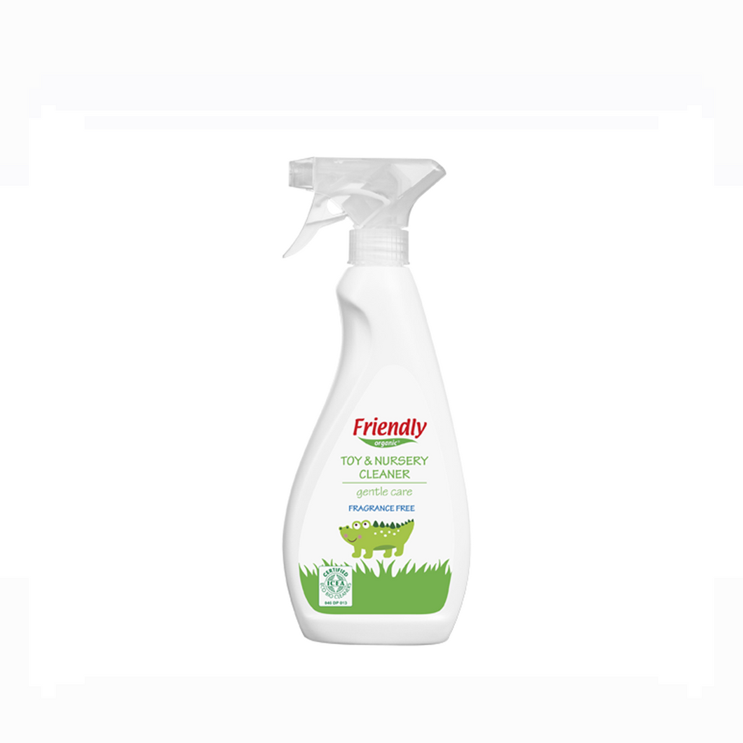 [Friendly Organics] Toy & Nursery Cleaner (Fragrance Free) - Not Too Big