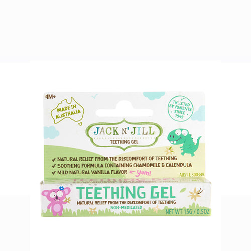 [Jack N' Jill] Natural Teething Gel 15g - Not Too Big