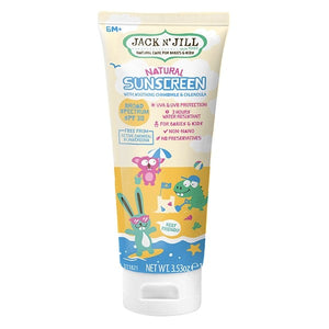 [Jack N' Jill] Natural Sunscreen 100g - Not Too Big