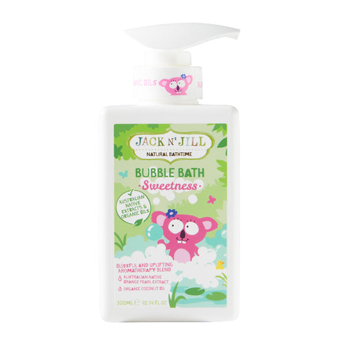 [Jack N' Jill] Bubble Bath (Assorted) 300ml - Not Too Big (Sweetness)