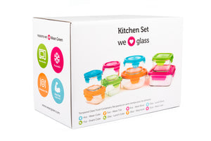 [Weangreen] Kitchen 8 Set (Assorted) - Not Too Big (Packaging)