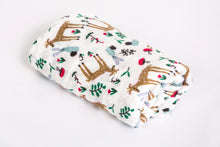 Load image into Gallery viewer, [Mimosa] Multi-Purpose Bamboo Muslin Swaddle - Not Too Big (Fawn and Rabbit)