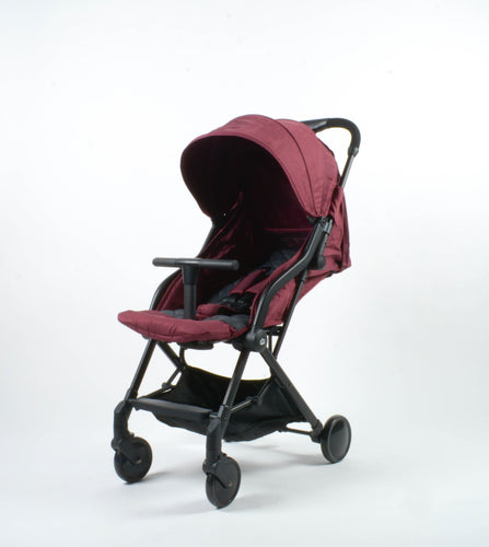 [Mimosa] Globetrotter+ Travel Stroller - Not Too Big (Mimosa Maroon)