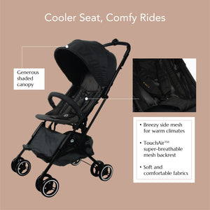 [Mimosa] Cabin City Baby Stroller - Not Too Big (Product Highlights)