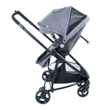 Load image into Gallery viewer, [Mimosa] Suites Seat & Bassinet Stroller - Not Too Big (Grey)