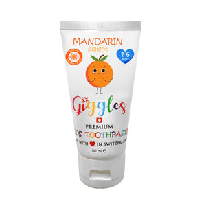 [Giggles] Toothpaste (1-6 years) - Not Too Big (Mandarin Delight)