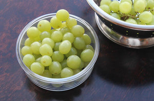 Green Grapes in our [Weangreen] Meal Bowls Single - Not Too Big