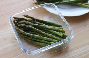Asparagus in our [Weangreen] Meal Cubes Single - Not Too Big