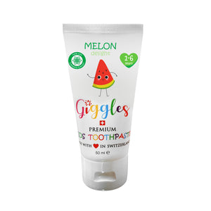 [Giggles] Toothpaste (1-6 years) - Not Too Big (Melon Delight)