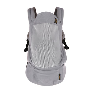 [Mimosa] Ergonomic Baby Carrier - Not Too Big (Urban Grey Backview)