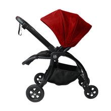 Load image into Gallery viewer, [Mimosa] Dreamliner Stroller Sun Canopy with Stroller - Not Too Big (Red)