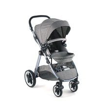 Load image into Gallery viewer, [Mimosa] First Class Travel Baby Stroller - Not Too Big (Baltica Grey)