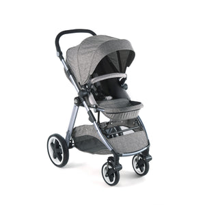 [Mimosa] First Class Travel Baby Stroller - Not Too Big (Baltica Grey)