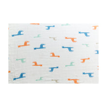 Load image into Gallery viewer, [Mimosa] Multi-Purpose Bamboo Muslin Swaddle - Not Too Big (Floral)