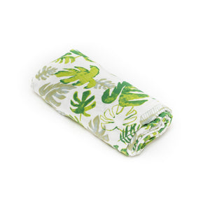 [Mimosa] Multi-Purpose Bamboo Muslin Swaddle - Not Too Big (Leaf)
