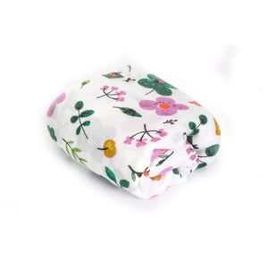 [Mimosa] Multi-Purpose Bamboo Muslin Swaddle - Not Too Big (Lady Bug)