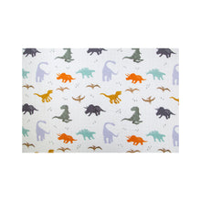 Load image into Gallery viewer, [Mimosa] Multi-Purpose Bamboo Muslin Swaddle - Not Too Big (Dino)
