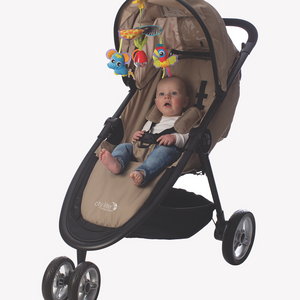[Playgro] On-The-Go Stroller Mobile (Age 0+) - Not Too Big
