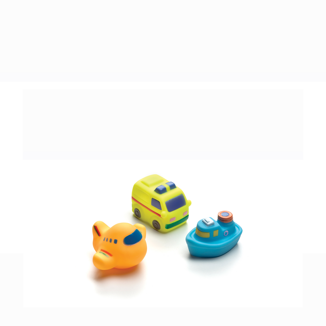 [Playgro] On The Move Squirtees (3pk) (Age 6m+) - Not Too Big